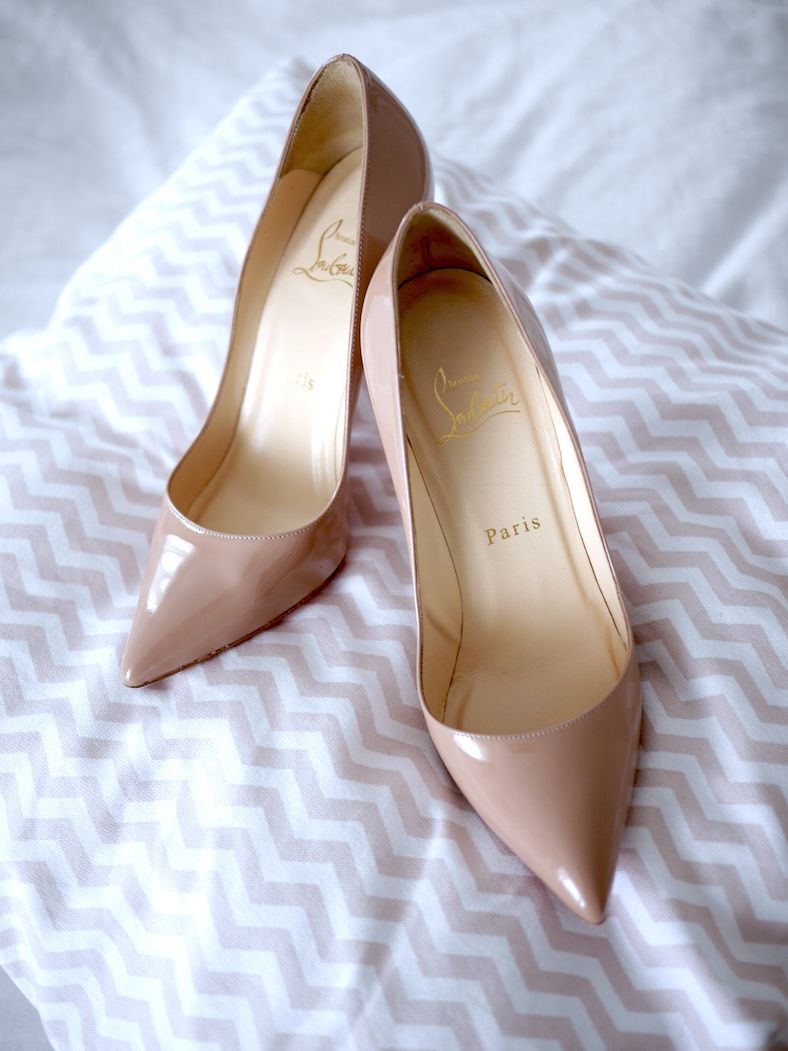 Christian Louboutin Pigalle 100 Nude