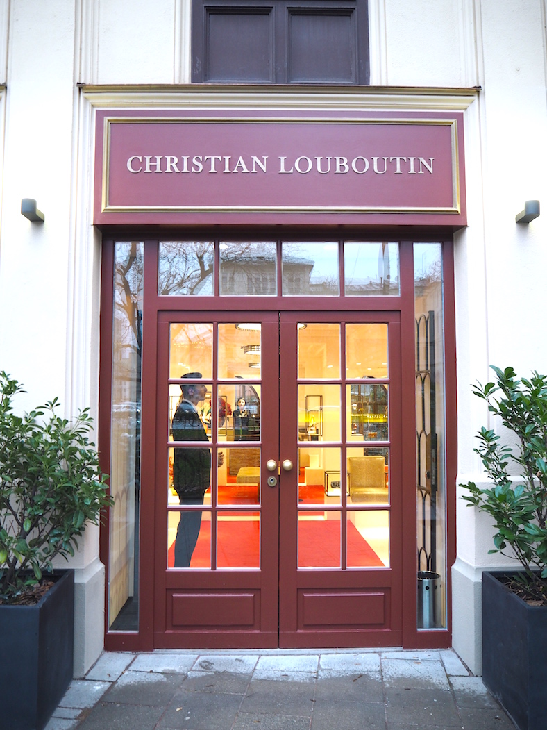 First Christian Louboutin boutique in Germany | Munich