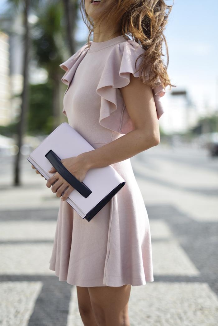 pastel colors dress
