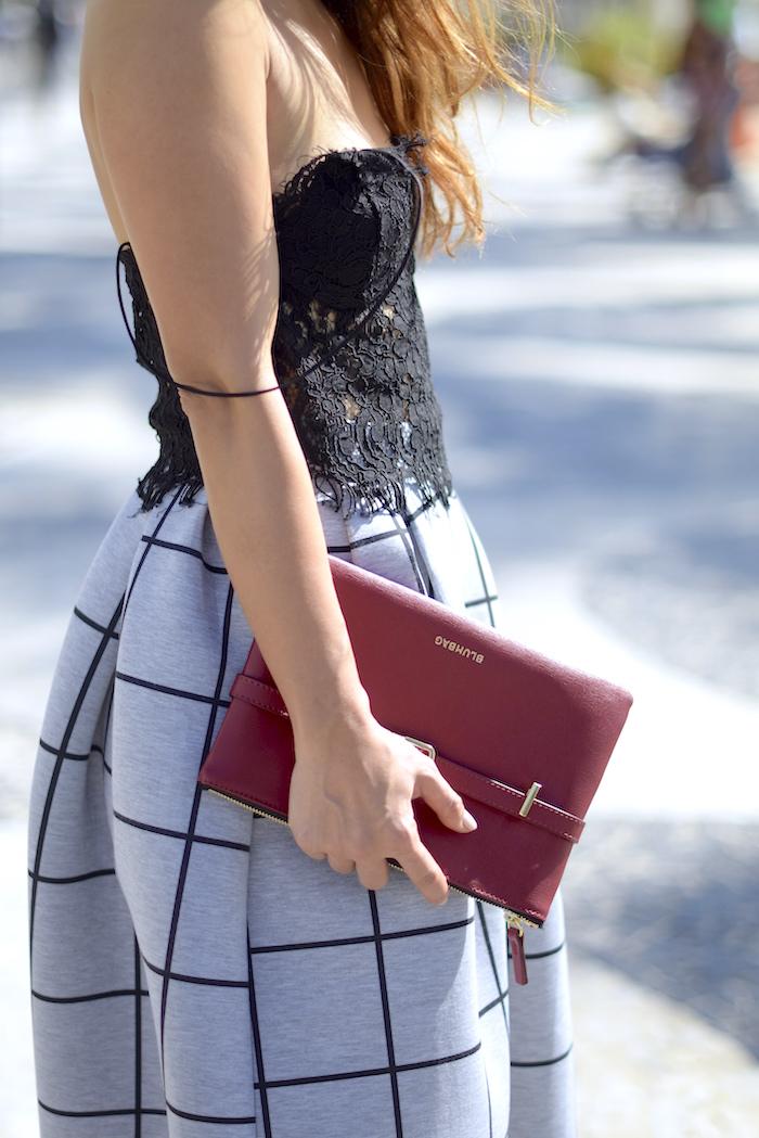 black Lace top by Zara