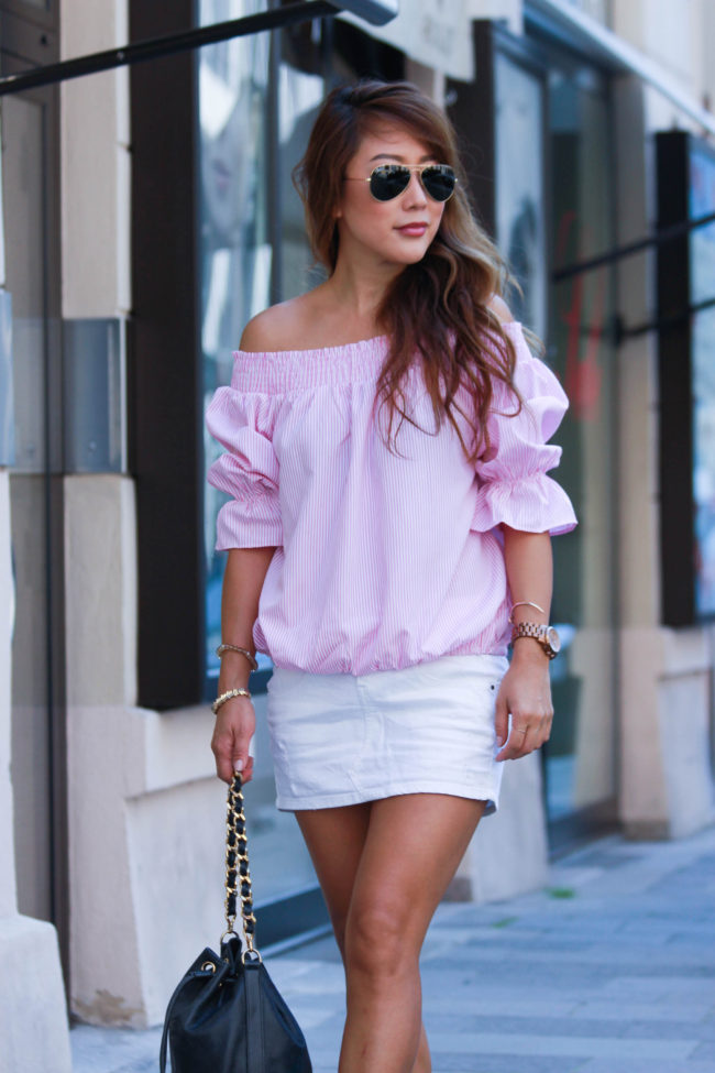 theclassycloud-pink-offshoulder-blouse (1 von 11)