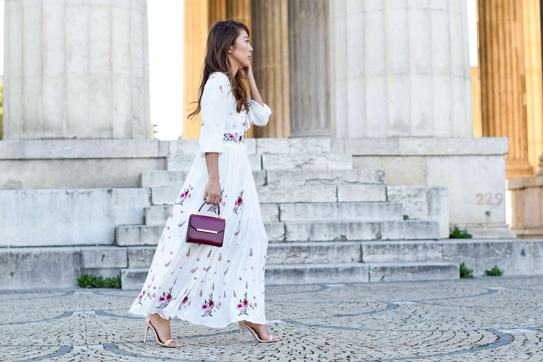 theclassycloud-chicwish-floral-maxi-dress-nude heels (2 von 5)