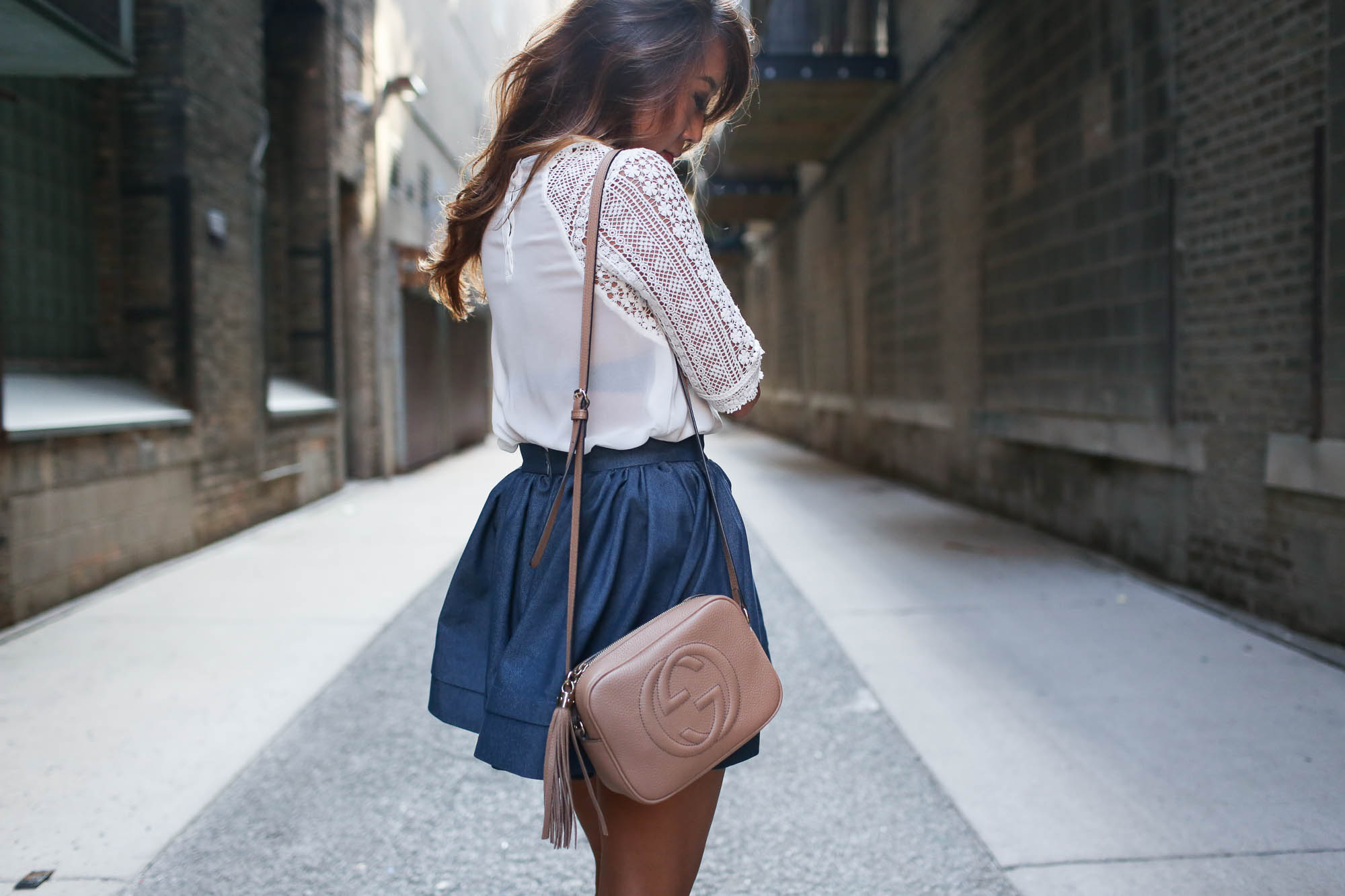 theclassycloud-denim-skirt-gucci-sohobag-chicago-6-von-9
