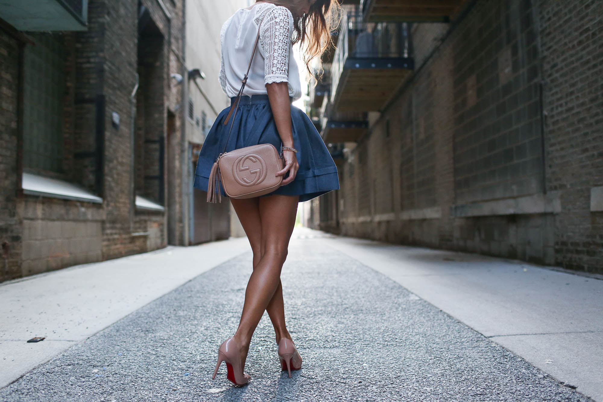 theclassycloud-denim-skirt-gucci-sohobag-chicago-8-von-9