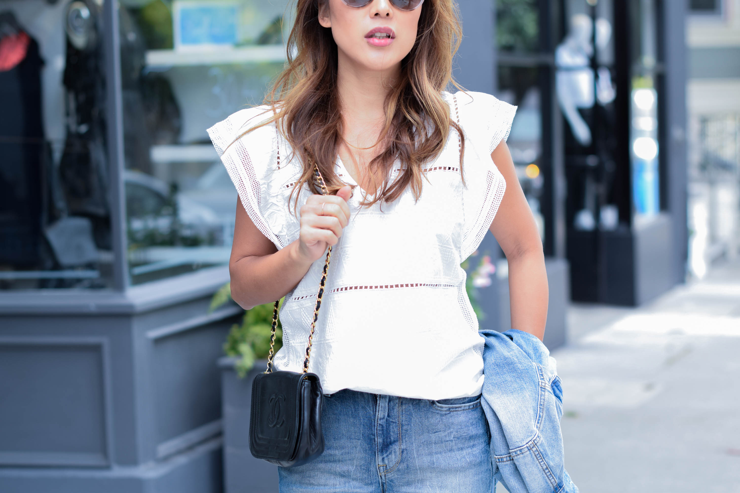 theclassycloud-white-blouse-flared-jeans-sanfrancisco (3 von 4)
