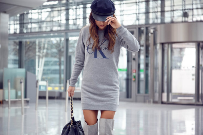 theclassycloud-aboutyoude-casual-outfit-calvin-klein-sweatshirt-dress-1-von-12